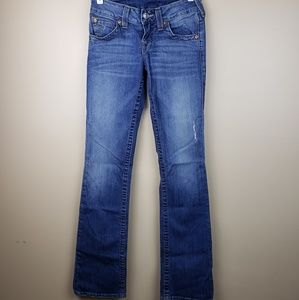 EUC True Religion High Rise Boot Jean's, size 26
